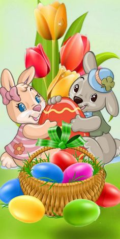 1440 x 2880 Pixel - Ostern Wallpaper - Easter Art, Easter Crafts, Easter Eggs, Cute Easter Pictures, Happy Easter Wallpaper, Ostern Wallpaper, Easter Paintings, Easter Messages, Bunny Painting