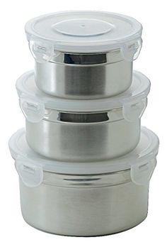 Steelware Snap Seal Leakproof Stainless Steel Lunch Box Containers