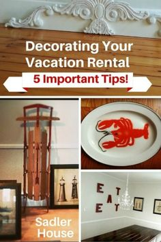 Decorating Your Vacation Rental - 5 Important Tips