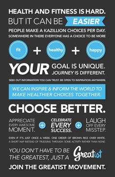 The Greatist Health and Fitness Manifesto