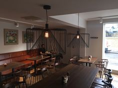 Gail's Bakery by Stiff and Trevillion. Lighting by Skialight Architectural Lighting