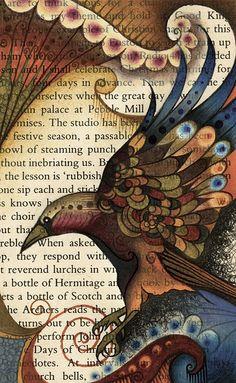 'Written Raven' illustration by katiemo
