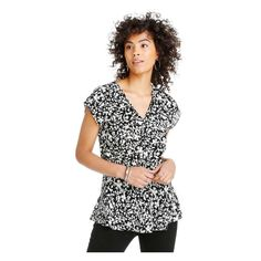 V-Neck Silk Blouse from Joe Fresh. Layer on the luxe look of our latest silk blouse. Only $34.30.