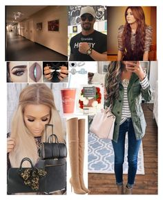 """""""Arriving at the arena 💖Carola💖"""" by carolalink ❤ liked on Polyvore featuring Religion Clothing, Balmain, STELLA McCARTNEY, Louis Vuitton, BERRICLE and Mark Broumand"""