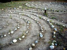Grünewald Guild Labyrinth in  Cascade Mountains of Washington State