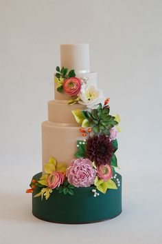 Cascading Florals - ELLEDecor.com