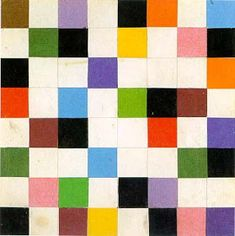 """Ellsworth Kelly Study for """"Sixty-Four Panels: Colors for a Large Wall,"""" 1951 Collage 7 in. Ellsworth Kelly, Cool Patterns, Beautiful Patterns, Post Painterly Abstraction, Famous Abstract Artists, Modern Artists, Wall Painting Decor, Piet Mondrian, Geometric Shapes"""