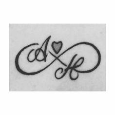 My lifeline💕💕 - anfängliches Tattoo Alphabet Tattoo Designs, Alphabet Letters Design, Infinity Tattoo Designs, Heart Tattoo Designs, Arm Tattoos Lily, Mom Tattoos, Couple Tattoos, Lifeline Tattoos, Matching Love Tattoos