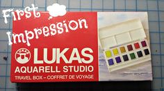 First Impressions   LUKAS Watercolors! Follow my experiences as a young artist!! All the ups and downs and creations through it all are shared on my blog!
