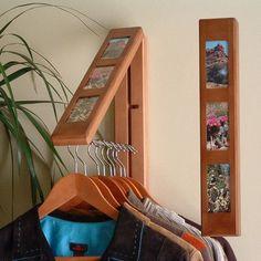 InstaHANGER Clothes Hanging System Finish: Chestnut