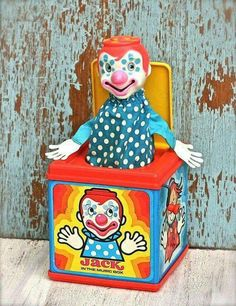 Remember when - They were around for countless decades. When I was little, those things would give me a coronary, along with that clown face (Hmm, still can't stand clowns. )