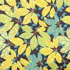 jungle leaf fabric