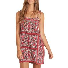 51e5573d11bf Women s Billabong Night Out Print Minidress ( 45) ❤ liked on Polyvore  featuring dresses