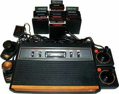 We bought our first ATARI machine in '81.
