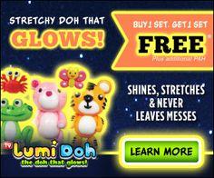 Lumi Doh Glow In The Dark Play Dough