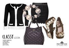 Classy look #Fornarina fw 12.13 #style tips