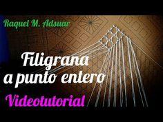 051 Punto Triángulo - Diamante Curso Completo Encaje - Tutorial Raquel M. Adsuar Bolillotuber - YouTube
