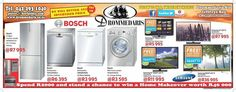 Cash in on these awesome deals! Our Birthday Bash will be taking place on the of November in store! There will be loads of lucky draws and a chance to win worth of household appliances. Weekly Specials, Timeline Photos, Birthday Bash, Household, November, Appliances, Lifestyle, Store, Awesome