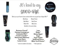 Scentsy layers line! Get them before they are gone! Amandas.scentsy.us