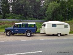 Landrover with Westfalia