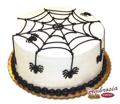 Spider cake for Trey Pinteres