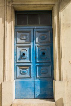 Beautiful Doors in Gozo, Malta | The Travel Tester