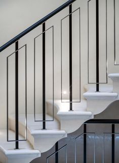 The Next Level: 14 Stair Railings to Elevate Your Home Design Stair Railing Ideas design Elevate Home Level Railings stair The Next Level: 14 Stair Railings to Elevate Your Home Design Stair Railing Idea. Marcel House The Next Level: 14 St Staircase Railing Design, Interior Stair Railing, Modern Stair Railing, Staircase Handrail, Balcony Railing Design, Home Stairs Design, Modern Stairs, Home Design, Design Ideas