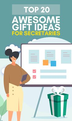 Looking for appropriate and affordable secretary gifts or do you have no idea what to buy for admin professionals' day? You came to the right place! Great secretaries are invaluable any organization and a great gift will definitely help to hold on to them. This being said, finding a great gift for them is not as easy as it looks In this article, you will find a nice mix of funny, original, thoughtful, and useful gift ideas for secretaries. #giftsforsecretaries #secretarygifts #giftsforher Simple Gifts, Easy Gifts, Kids Gifts, Christmas Gifts For Friends, Homemade Christmas Gifts, Mother Birthday Gifts, Gifts For Father, Admin Professionals Day, Secretary Gifts
