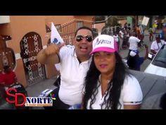 Luis Abinader encabeza caravana en Guaricanos; habla de posible alianza ...