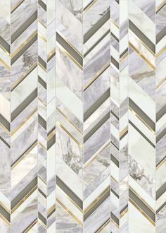 Royale / Odyssée Collection featured in natural stones (Calacatta Oro & Pacifica Blue), Venetian Glass & brushed brass Floor Patterns, Wall Patterns, Mosaic Patterns, Textures Patterns, Tiles Texture, Marble Texture, Floor Design, Tile Design, Marble Pattern