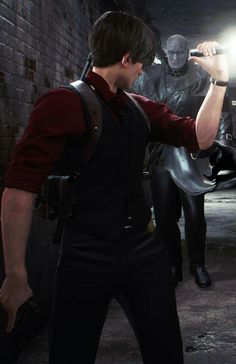 Leon in this red clothes got really hot Tyrant Resident Evil, Resident Evil Anime, Jill Sandwich, Leon S Kennedy, Sometimes I Wonder, Combat Medic, Cool Cartoons, Best Games, Gorgeous Men