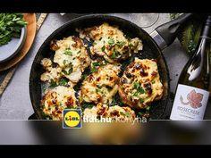5 összetevős receptek – Mautner Zsófi – Sült karfiolos tepsis tarja   Lidl Konyha - YouTube Lidl, Paella, Cauliflower, Tarot, Chili, Vegetables, Ethnic Recipes, Food, Youtube
