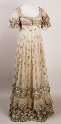 Evening Gown worn by Empress Josephine