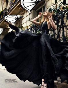 Short or fluid black dress for the New Year?    www.bykoket.com