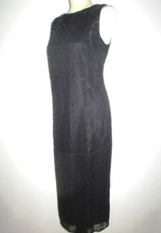 * * * MARELLA Perl-/Pailletten-Kleid schwarz, Gr.38 * * * | eBay