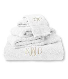 Ultra-Absorbent Cotton Towels: Bath Towels   Free Shipping at L.L.Bean