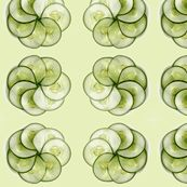 Cucumber Flowers - This is actually a wallpaper, but it shows a great cucumber flower. ;-)