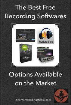 The Best Free Recording Software Options Available on the Market Home Recording Studio Setup, Home Studio Music, Design Studio Office, Studio Software, Recorder Music, Office Workspace, Cool Tech, Electronic Music, Vinyl Records