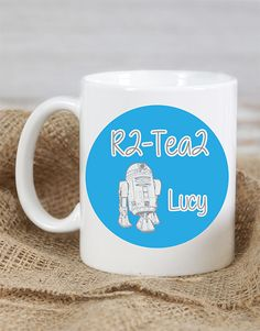 gifts: Personalised Mug! we love ourselves a cute and punny gift. This is a personalised mug would truly be proud of. Place your order today for Star Wars gift delivery, countrywide!