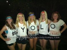 Sisterhood reigns supreme in this awesome collection of our coolest group Halloween costumes. The awesome costumes here are perfect for an all-girl group. Girl Group Halloween Costumes, Group Costumes, Cool Costumes, Costume Ideas, Yolo, Homecoming Week, Homemade Costumes, Girl Humor, Holiday Fun