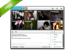 Start a group video chat! Instantly create or start your own personalized group chat room.