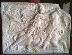 """The Mithraic Mysteries, also known as Mithraism, were a mystery cult in the Roman world where followers worshipped the Indo-Iranian deity Mithras (Akkadian for """"contract"""") as the god of friendship, contract and order. The cult first appeared in the late 1st century CE and, at an extraordinary pace, spread from the Italian Peninsula and border regions across the whole of the Roman empire.   The cult, like many others, was a secret one. (Info by Pierre A. Thome) -- AHE"""