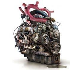 diesel punk heart