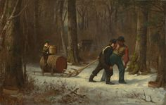 Eastman Johnson, 'On Their Way to Camp,' 1873, National Gallery of Art, Washington D.C.