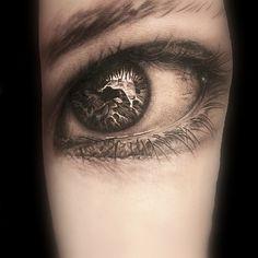 Eye Tattoo | Niki Norberg