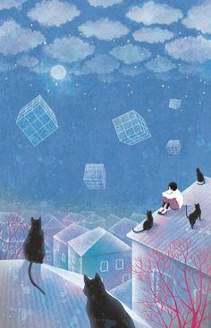 Invierno, Nieve - Autor desconocido.