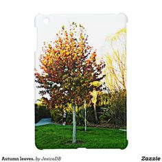 Autumn leaves. iPad mini cover