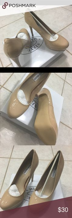 Steve Madden Pumps Steve Madden Pumps, never been worn! All prices are negotiable but please use the OFFER button in order to make me a different offer. I will do bundles just let me know what you are interested in but NO trades 😀 Steve Madden Shoes