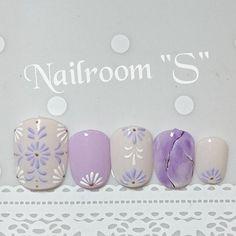 Lace Nail Art, Lace Nails, Gel Nail Art, Flower Nails, Simple Toe Nails, Nails Now, Nail Art Techniques, Nail Art Designs Videos, Short Nails Art