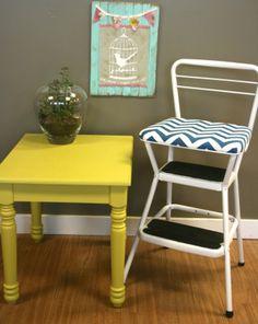 DIY tutorial to recover Cosco step stool
